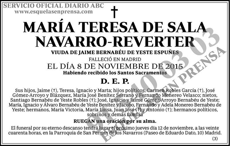 María Teresa de la Sala Navarro-Reverter